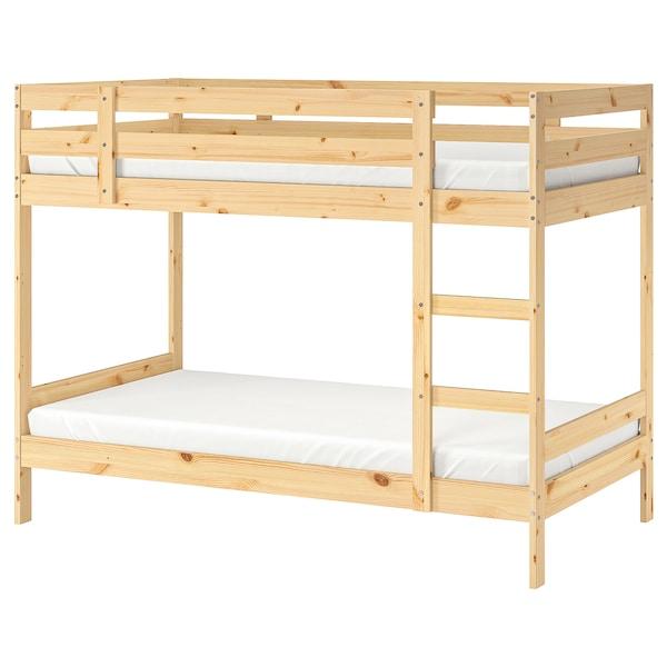 麦达 双层床架 松木 100 公斤 182 厘米 97 厘米 206 厘米 200 厘米 90 厘米 15 厘米
