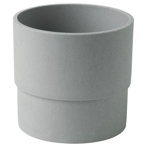尼邦 装饰用花盆, 室内/户外 灰色, 12 厘米