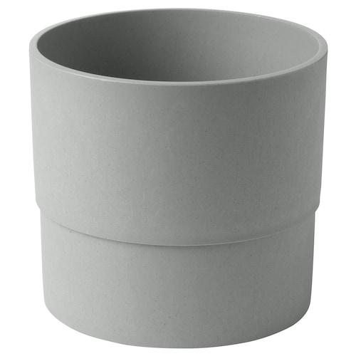 尼邦 装饰用花盆, 室内/户外 灰色, 15 厘米