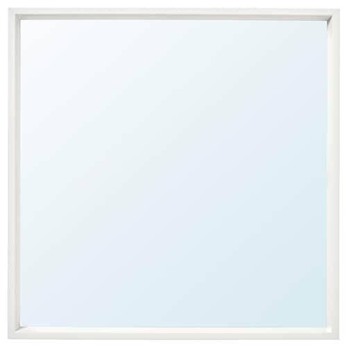 尼瑟达 镜子, 白色, 65x65 厘米