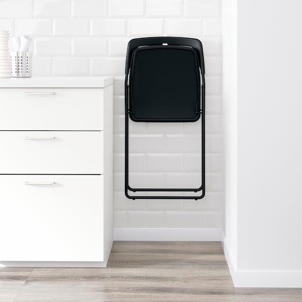 尼斯 折叠椅, 黑色