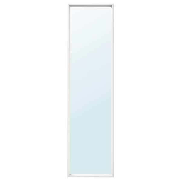 NISSEDAL 尼瑟达 镜子, 白色, 40x150 厘米