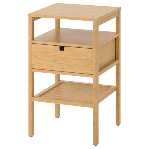诺德希萨 床头桌 竹 40 厘米 40 厘米 67 厘米