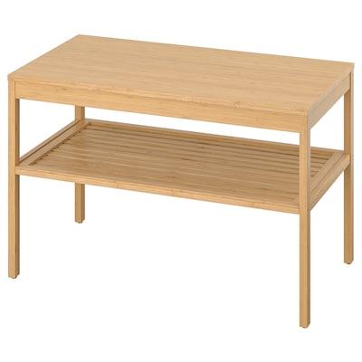 NORDKISA 诺德希萨 长凳, 竹, 80 厘米