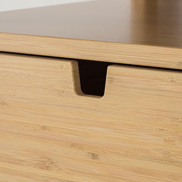 NORDKISA 诺德希萨 床头桌, 竹, 40x40 厘米