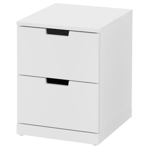 IKEA 诺德里 两斗抽屉柜