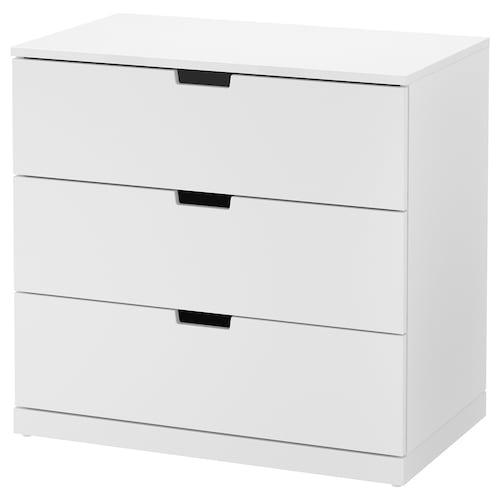 IKEA 诺德里 三斗抽屉柜