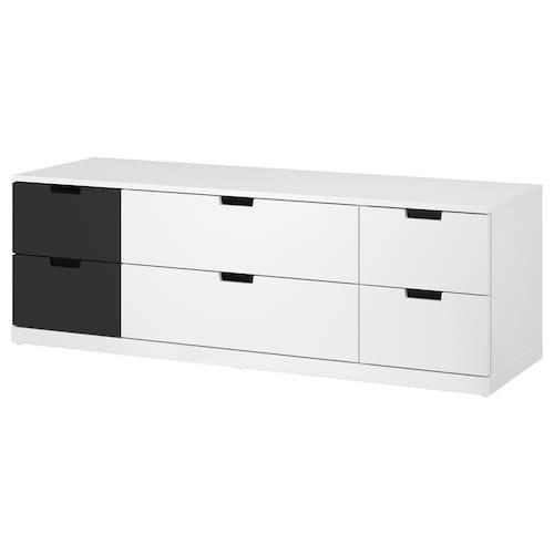 IKEA 诺德里 6屉柜