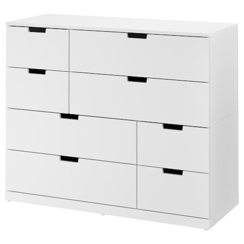 IKEA 诺德里 八斗抽屉柜