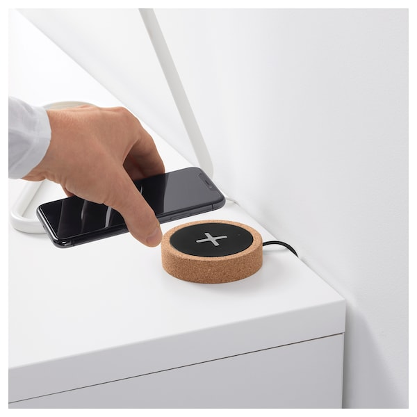 诺德马克 无线充电器 黑色/软木 2 厘米 8.5 厘米 1.90 米