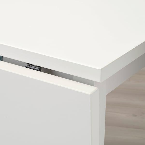 诺德维肯 折叠桌 白色 74 厘米 104 厘米 74 厘米 75 厘米