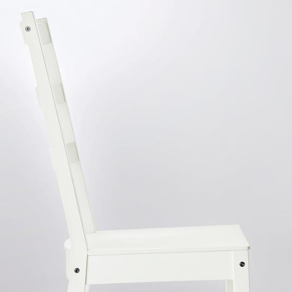 诺德维肯 / 诺德维肯 一桌四椅, 白色/白色, 152/223x95 厘米