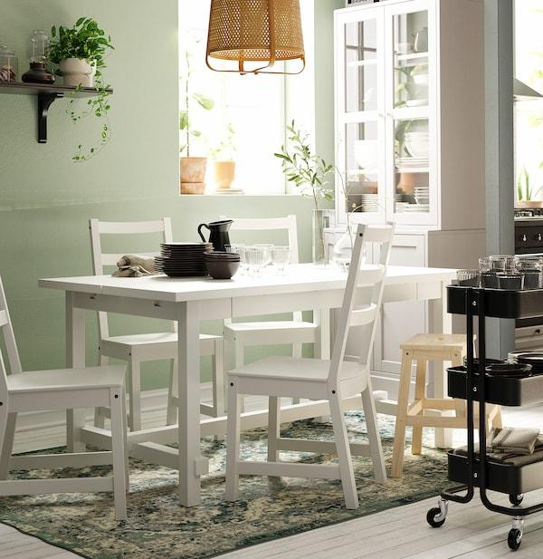 诺德维肯 椅子, 白色