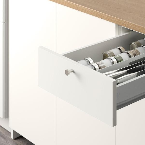 诺克胡 厨房, 白色, 182x183x220 厘米