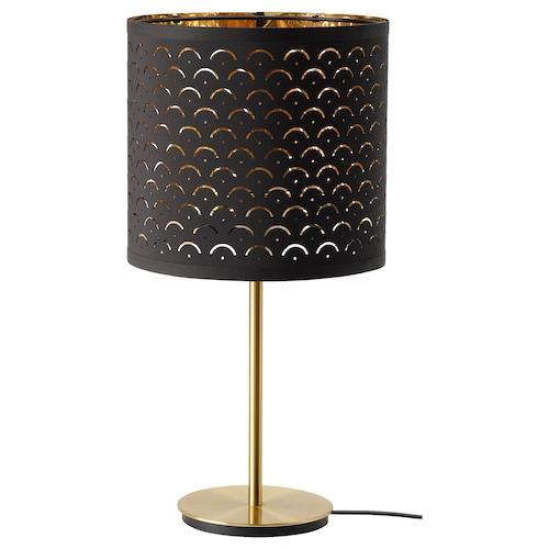 诺玛 / 斯卡夫提特 台灯, 黑色 黄铜/黄铜