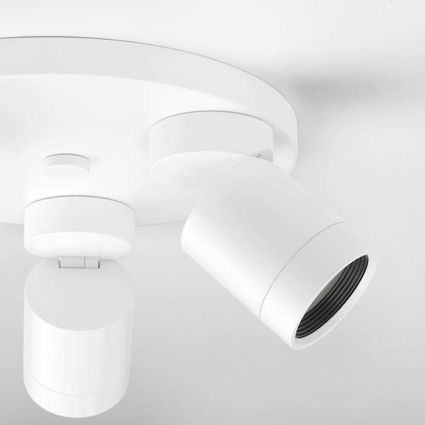 纽墨奈 3头吸顶射灯 白色 8.5 瓦特 25 厘米