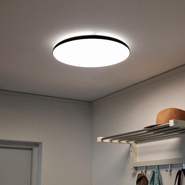 纽墨奈 LED吸顶灯 煤黑色 28 瓦特 8 厘米 45 厘米