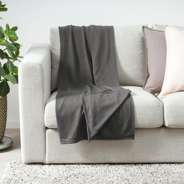 奥德西 休闲毯 深灰色 170 厘米 120 厘米