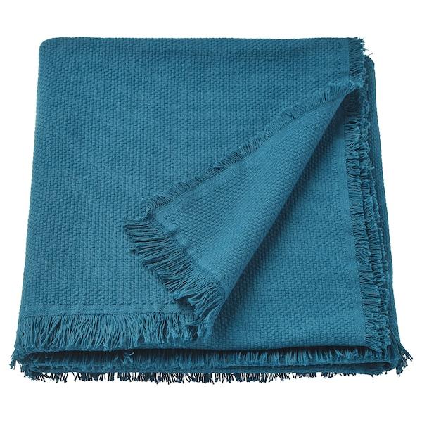 ODDRUN 乌德鲁恩 休闲毯, 蓝色, 130x170 厘米
