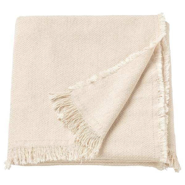 ODDRUN 乌德鲁恩 休闲毯, 天然色/米色, 130x170 厘米