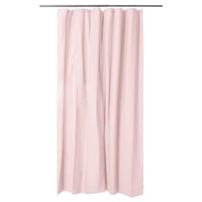 OLEBY 奥勒比 浴帘, 浅粉色, 180x200 厘米