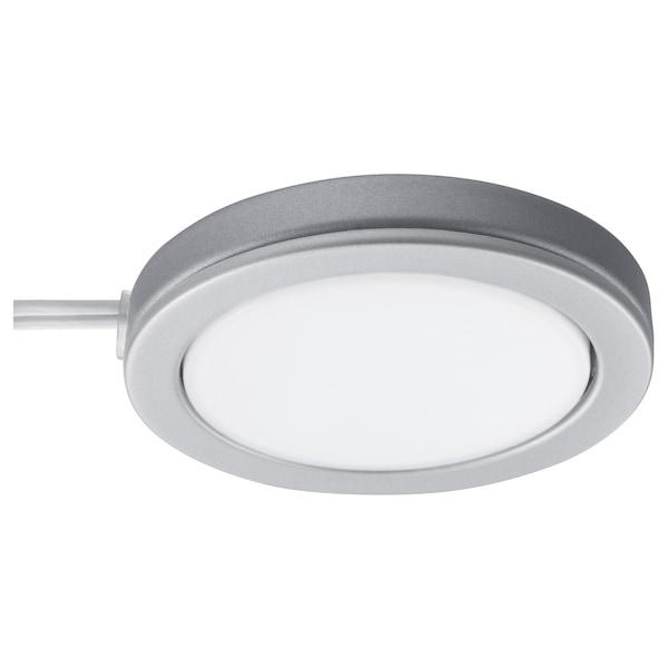OMLOPP 欧勒普 LED射灯, 铝色, 6.8 厘米