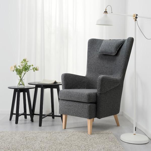沃姆安克萨姆 单人沙发/扶手椅 刚纳瑞德 深灰色 72 厘米 88 厘米 109 厘米 18 厘米 66 厘米 49 厘米 54 厘米 49 厘米