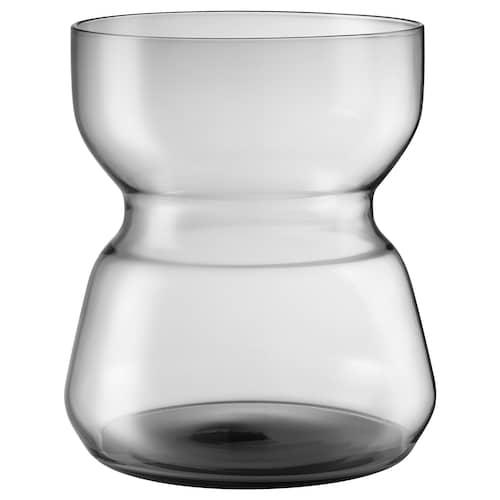 沃姆安克萨姆 花瓶 淡灰色 18 厘米 14.5 厘米