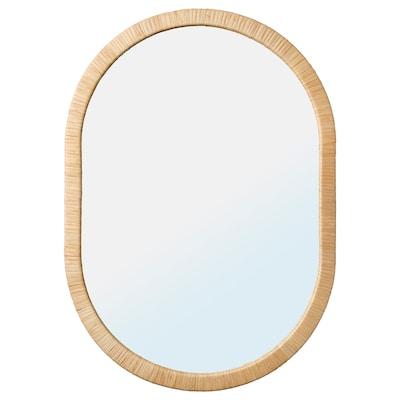 OPPHEM 欧普黑 镜子, 藤条, 54x77 厘米