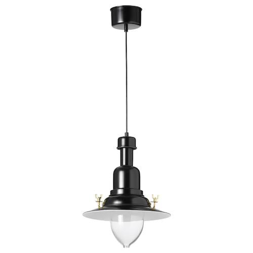 欧塔瓦 吊灯 黑色 60 瓦特 30 厘米 1.2 米