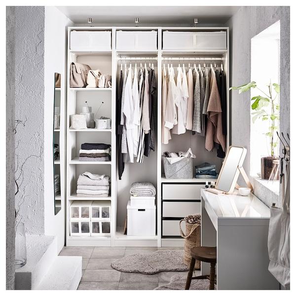 帕克思 衣柜, 白色, 175x58x236 厘米