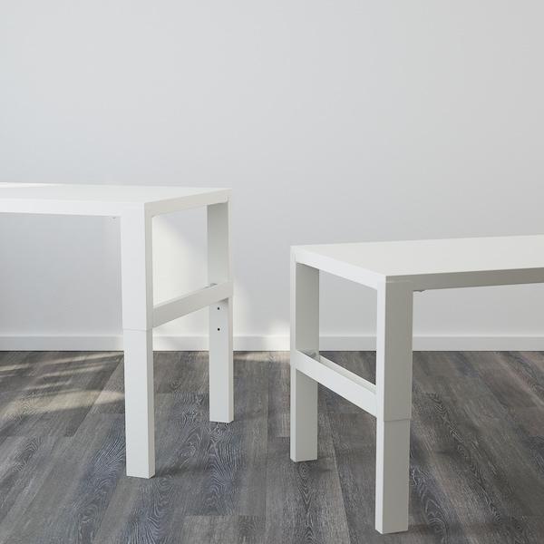 佩尔 桌含搁架件 白色 96 厘米 58 厘米 119 厘米 132 厘米 50 公斤