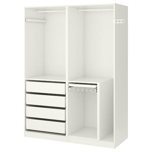 帕克思 衣柜 白色 150.0 厘米 58 厘米 201.2 厘米