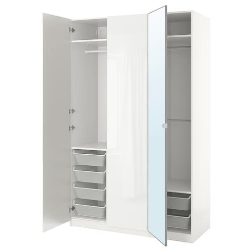 帕克思 衣柜 白色/法尔多 维克多 150 厘米 60 厘米 236.4 厘米