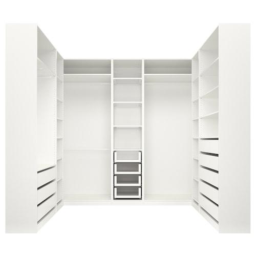 帕克思 衣柜 白色 275.9 厘米 210.5 厘米 236.4 厘米