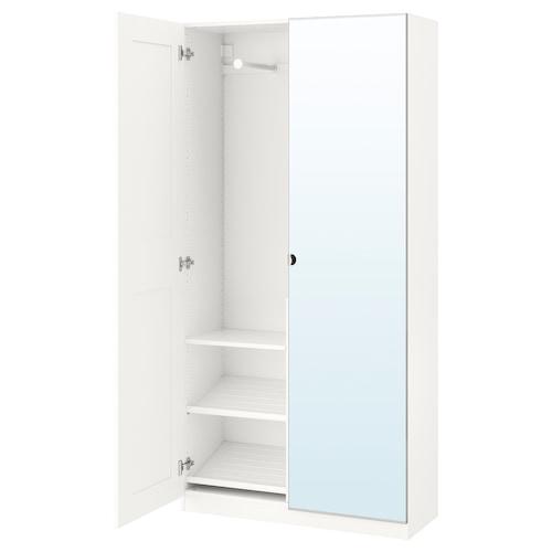 帕克思 衣柜 白色/格利莫 维克多 100.0 厘米 38.0 厘米 201.2 厘米