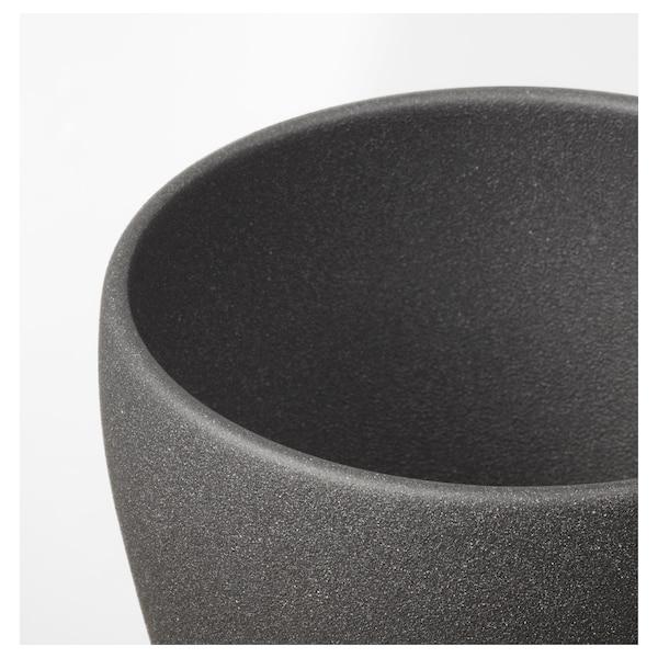 佩希拉德 装饰用花盆, 深灰色, 12 厘米