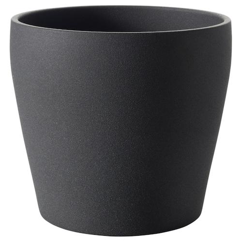 佩希拉德 装饰用花盆 深灰色 23 厘米 24 厘米 19 厘米 22 厘米