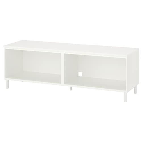 普拉萨 电视柜 白色/金属 30 公斤 160 厘米 42 厘米 54 厘米