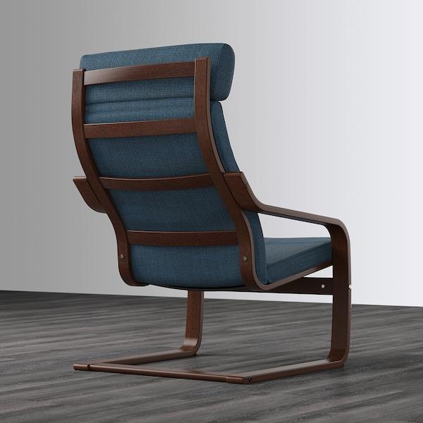 波昂 单人沙发/扶手椅 褐色/西拉利德 深蓝色 68 厘米 83 厘米 100 厘米 55 厘米 53 厘米 41 厘米