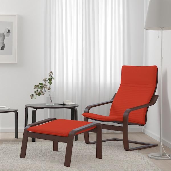 波昂 单人沙发/扶手椅 褐色/基尼萨 红色/橙色 68 厘米 83 厘米 100 厘米 55 厘米 53 厘米 41 厘米