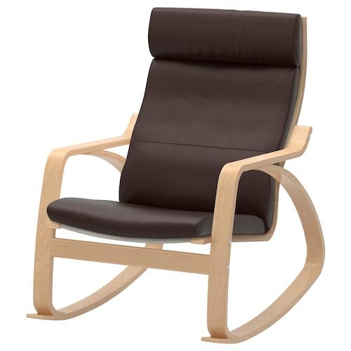 波昂 摇椅 桦木贴面/格洛斯 深褐色 68 厘米 94 厘米 95 厘米 56 厘米 50 厘米 45 厘米