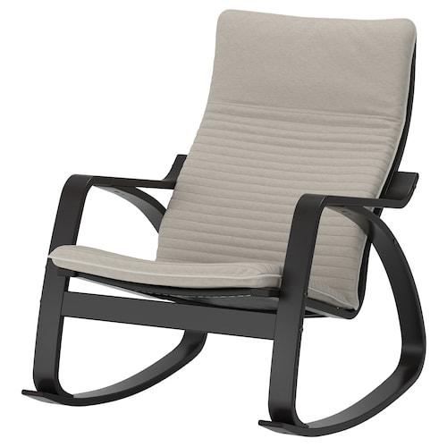 波昂 摇椅 黑褐色/基尼萨 淡米色 68 厘米 94 厘米 95 厘米 56 厘米 50 厘米 45 厘米
