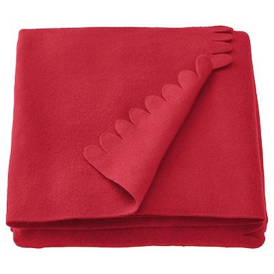 POLARVIDE 宝勒迈 休闲毯, 红色, 130x170 厘米