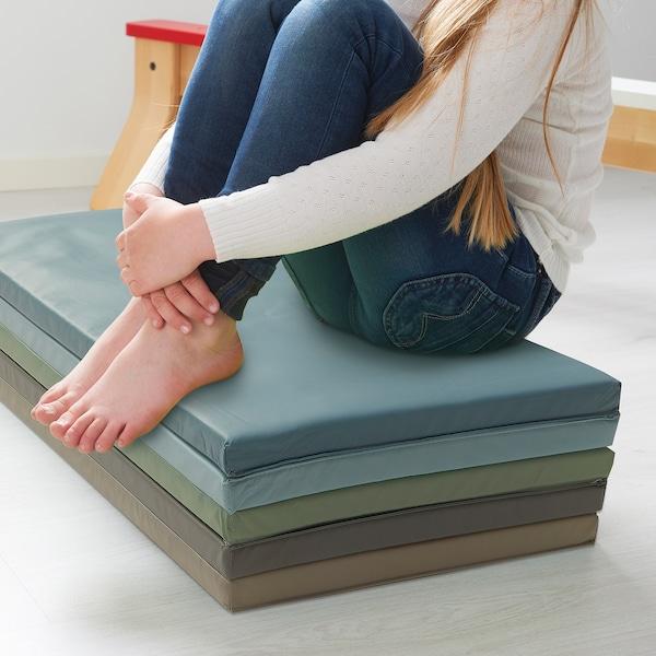 普鲁希 可折叠健身垫, 蓝色, 78x185 厘米