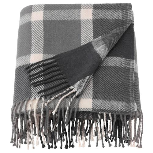 卡夫丹 休闲毯, 灰色/灰白, 130x180 厘米