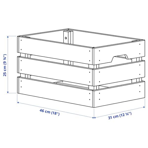 卡纳格 盒, 松木, 46x31x25 厘米