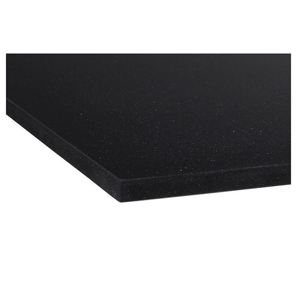 卡思喀 定制操作台面, 黑色 仿石材/石英, 1 平方米x4.0 厘米