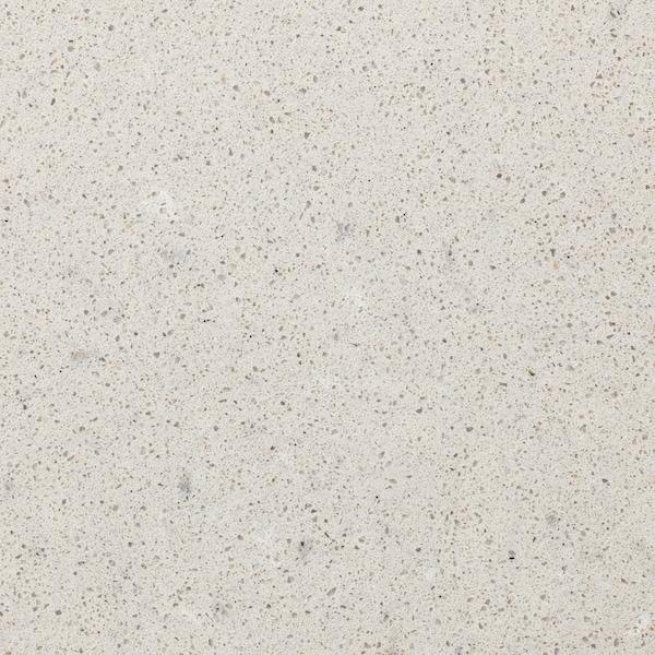 卡思喀 定制操作台面, 磨砂浅灰色/米色/仿石材 石英, 1 平方米x4.0 厘米