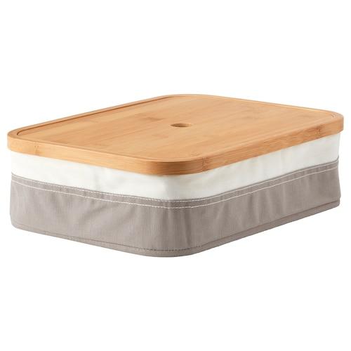 雷布拉 储物盒带格 25 厘米 35 厘米 10 厘米